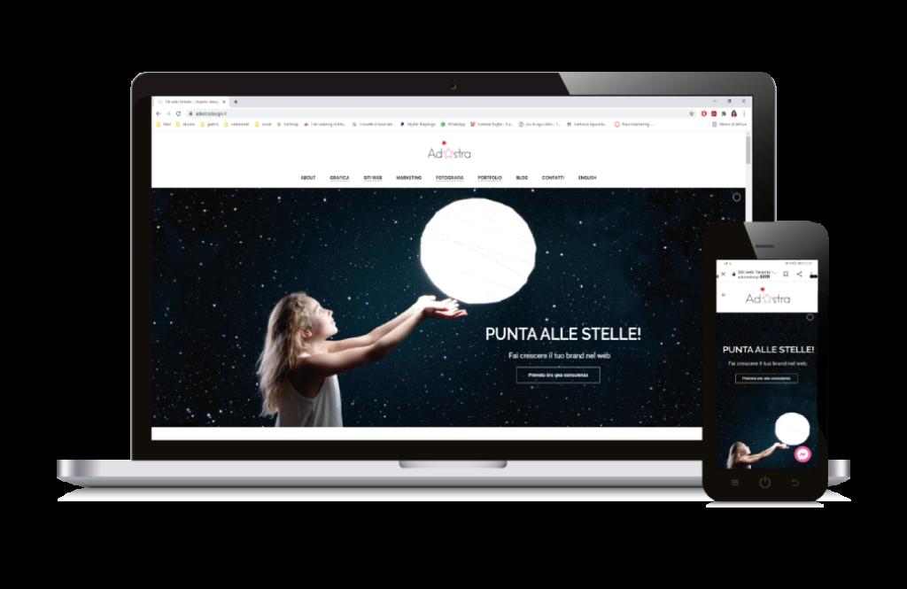 Web design a Taranto
